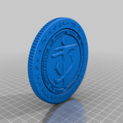 Download free STL file Doom Eternal Praetor Suit Token • Design to 3D print, Fanaatti