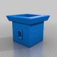 Télécharger fichier STL gratuit Tabletop - Tour du château • Plan imprimable en 3D, Fanaatti