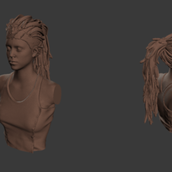 Download free 3D printing files Senua - Hellblade, Fanaatti