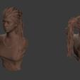Download free 3D printing files Senua - Hellblade, Fanaatti