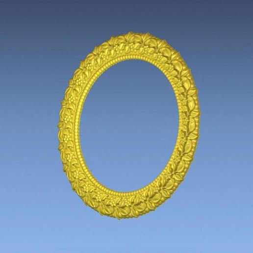 3.jpg Download free STL file ROUND BORDER 3D STL FILE • 3D printer object, ALPHA_MENA
