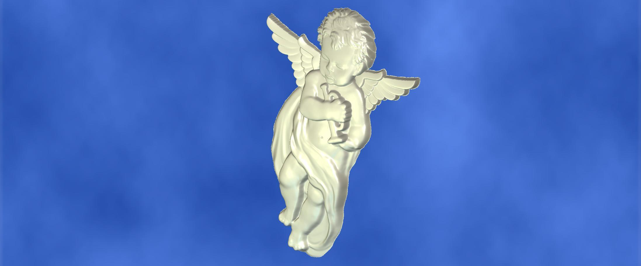 3.jpg Download free STL file 3D STL MODEL CHERUB  • 3D print model, ALPHA_MENA