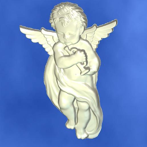 5.jpg Download free STL file 3D STL MODEL CHERUB  • 3D print model, ALPHA_MENA
