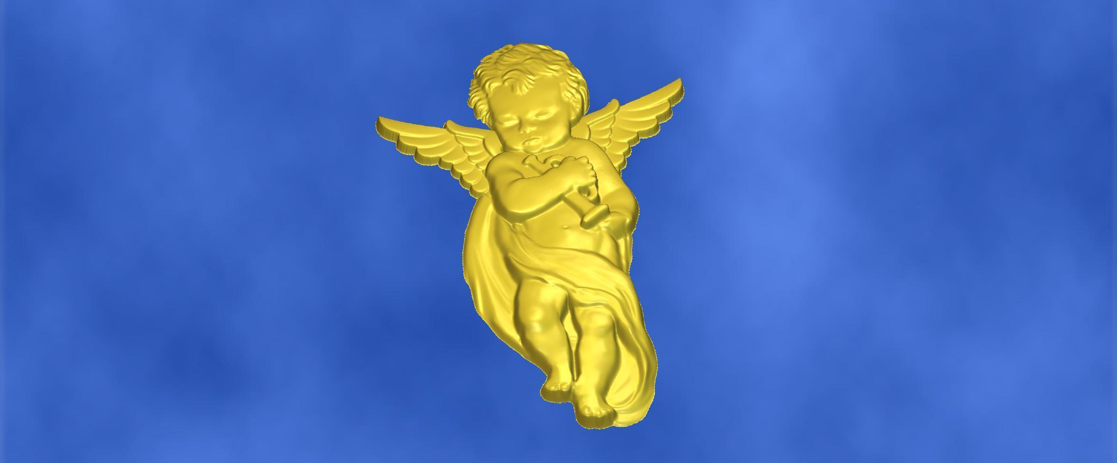 13.jpg Download free STL file 3D STL MODEL CHERUB  • 3D print model, ALPHA_MENA