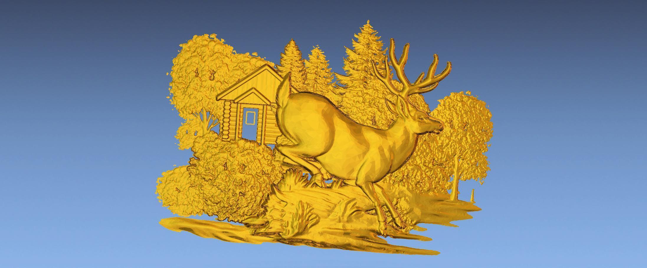 5.jpg Download free STL file 3D STL SCARED DEER • 3D print model, ALPHA_MENA