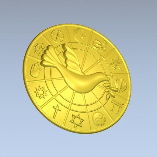 5.jpg Download free STL file 3D STL MODEL WORLD RELIGIOUS • 3D printing model, ALPHA_MENA