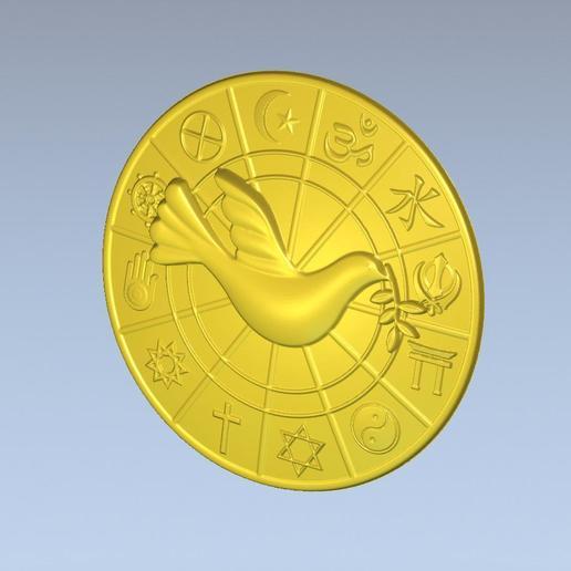 3.jpg Download free STL file 3D STL MODEL WORLD RELIGIOUS • 3D printing model, ALPHA_MENA