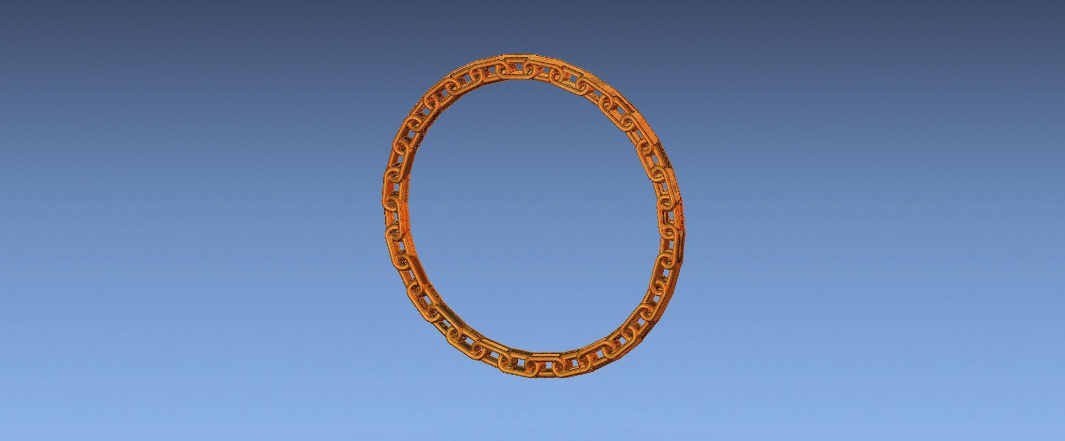 3.jpg Download free STL file chain border 3d stl file • 3D printing design, ALPHA_MENA