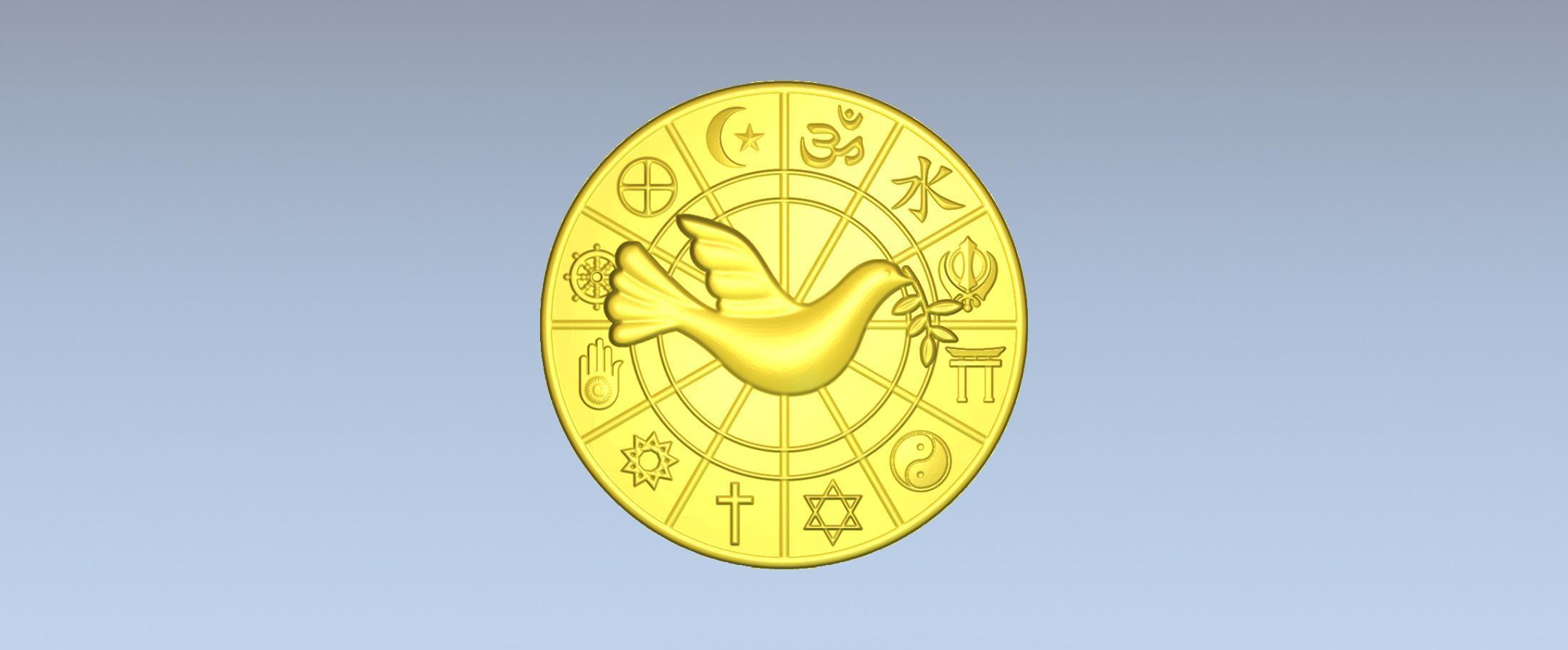 1.jpg Download free STL file 3D STL MODEL WORLD RELIGIOUS • 3D printing model, ALPHA_MENA