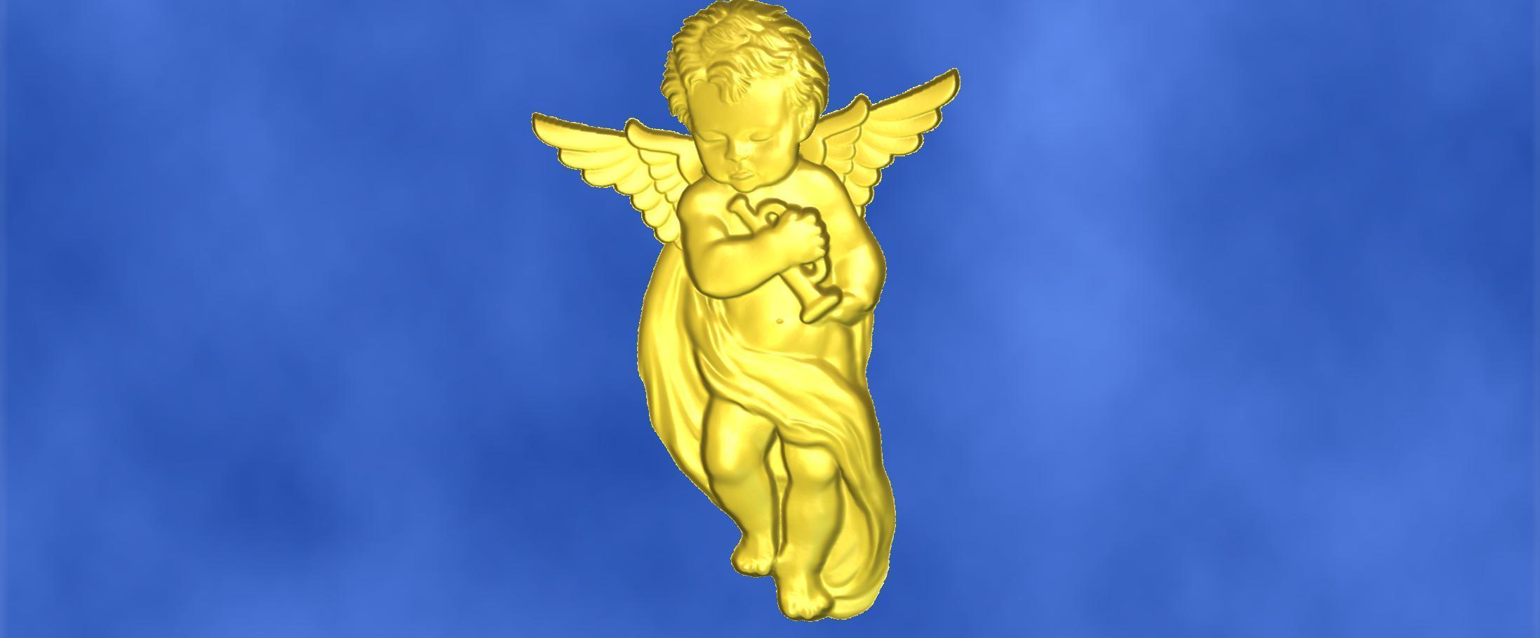 12.jpg Download free STL file 3D STL MODEL CHERUB  • 3D print model, ALPHA_MENA