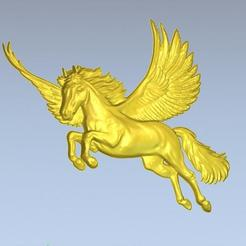 1.jpg Download free STL file 3D STL FILE PEGASUS • 3D printing model, ALPHA_MENA