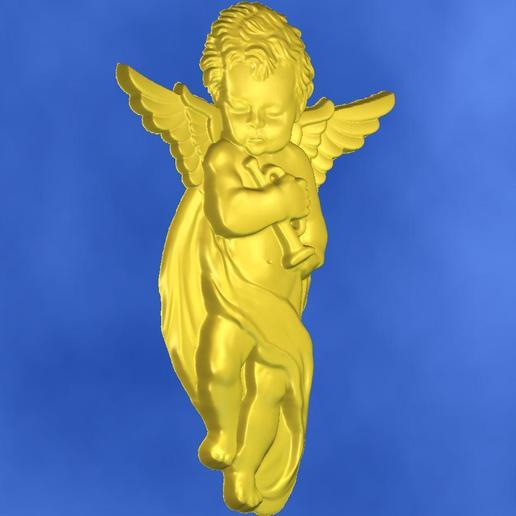 10.jpg Download free STL file 3D STL MODEL CHERUB  • 3D print model, ALPHA_MENA