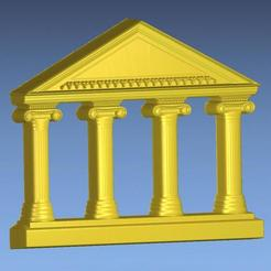 2.jpg Download free STL file ANCIENT TEMPLE 3D STL FILE • 3D printing design, ALPHA_MENA