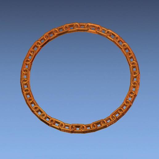 5.jpg Download free STL file chain border 3d stl file • 3D printing design, ALPHA_MENA