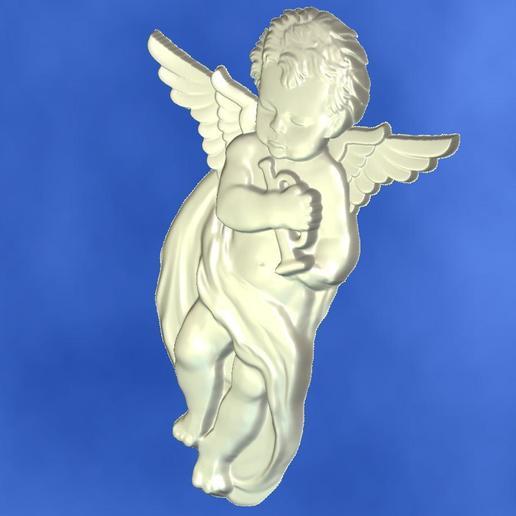 4.jpg Download free STL file 3D STL MODEL CHERUB  • 3D print model, ALPHA_MENA