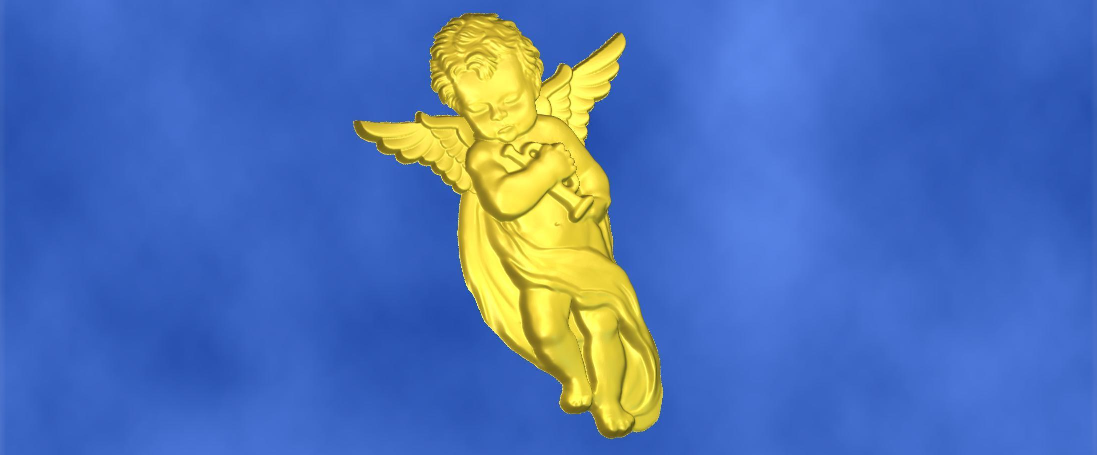 8.jpg Download free STL file 3D STL MODEL CHERUB  • 3D print model, ALPHA_MENA