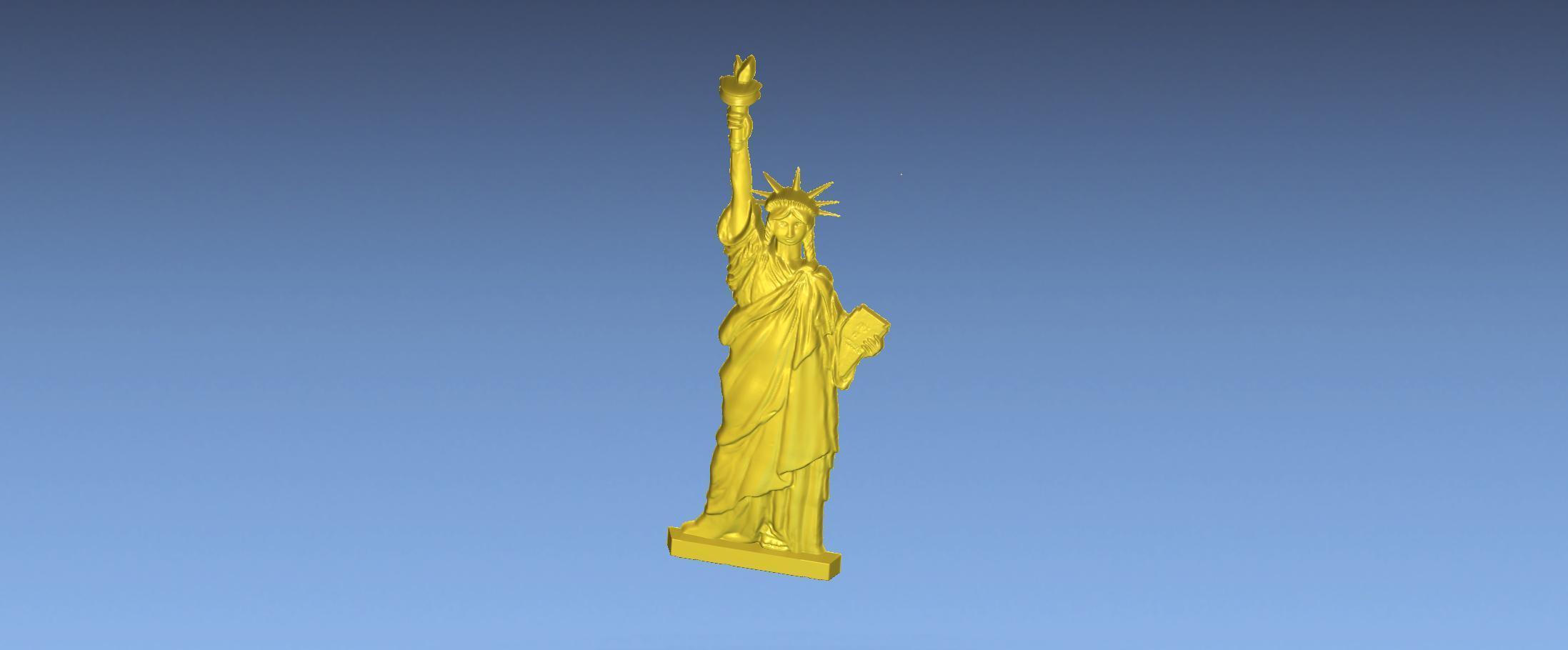 4.jpg Download free STL file LIBRETY STATUE 3D STL FILE • 3D printing design, ALPHA_MENA
