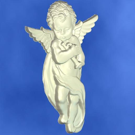 2.jpg Download free STL file 3D STL MODEL CHERUB  • 3D print model, ALPHA_MENA