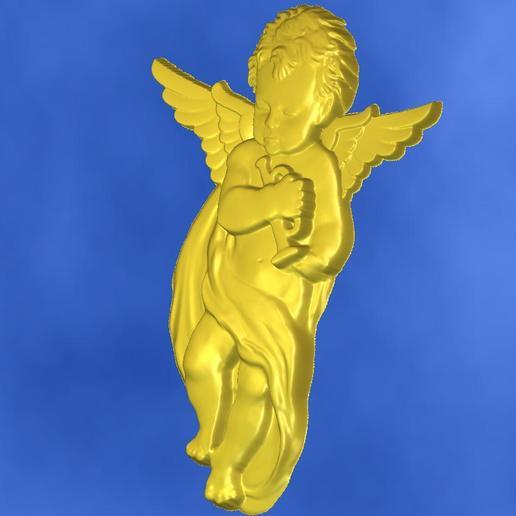 11.jpg Download free STL file 3D STL MODEL CHERUB  • 3D print model, ALPHA_MENA