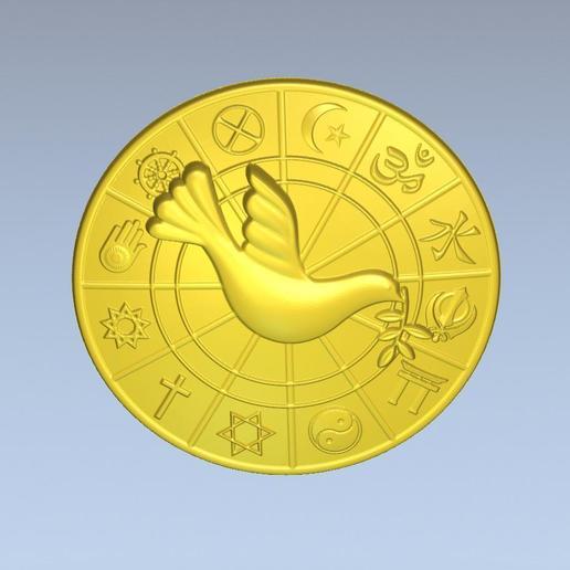 4.jpg Download free STL file 3D STL MODEL WORLD RELIGIOUS • 3D printing model, ALPHA_MENA