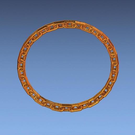 4.jpg Download free STL file chain border 3d stl file • 3D printing design, ALPHA_MENA