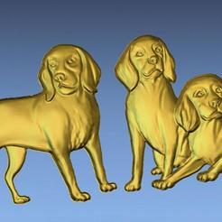 Download 3D printer templates 3D STL FILE DOGS, ALPHA_MENA
