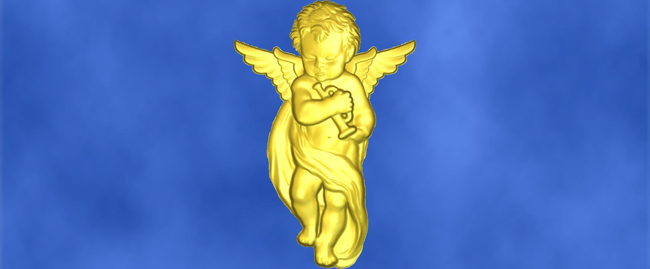 9.jpg Download free STL file 3D STL MODEL CHERUB  • 3D print model, ALPHA_MENA
