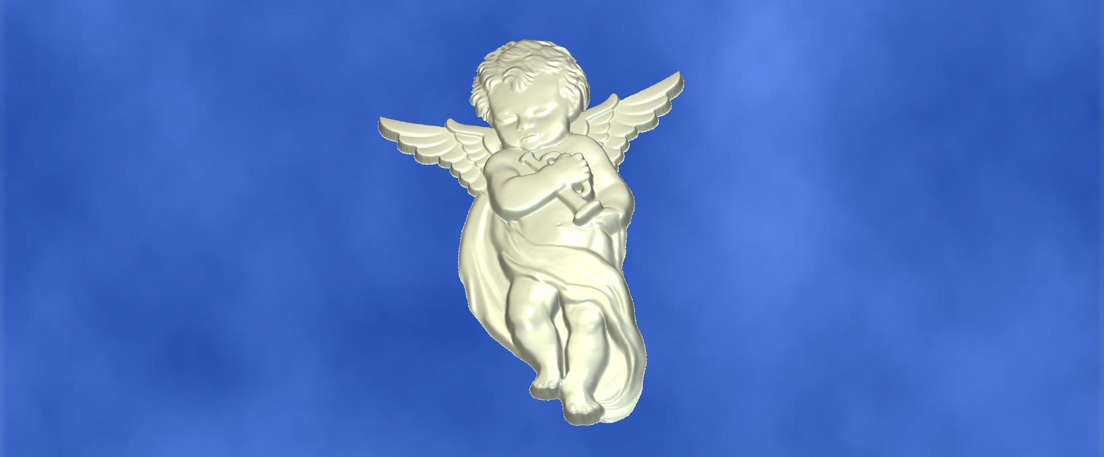 6.jpg Download free STL file 3D STL MODEL CHERUB  • 3D print model, ALPHA_MENA