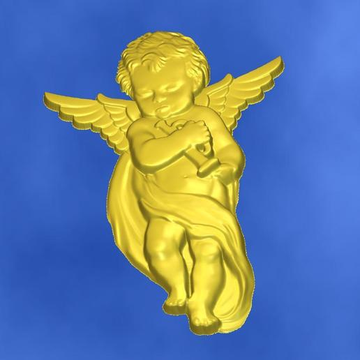 7.jpg Download free STL file 3D STL MODEL CHERUB  • 3D print model, ALPHA_MENA