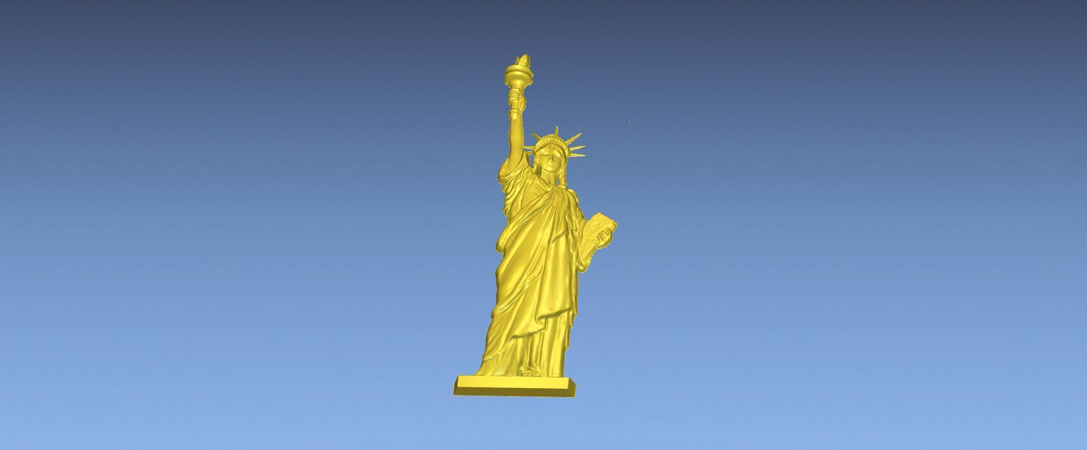 5.jpg Download free STL file LIBRETY STATUE 3D STL FILE • 3D printing design, ALPHA_MENA