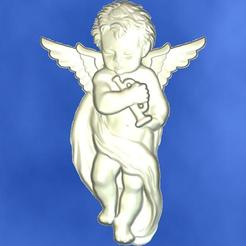 1.jpg Download free STL file 3D STL MODEL CHERUB  • 3D print model, ALPHA_MENA