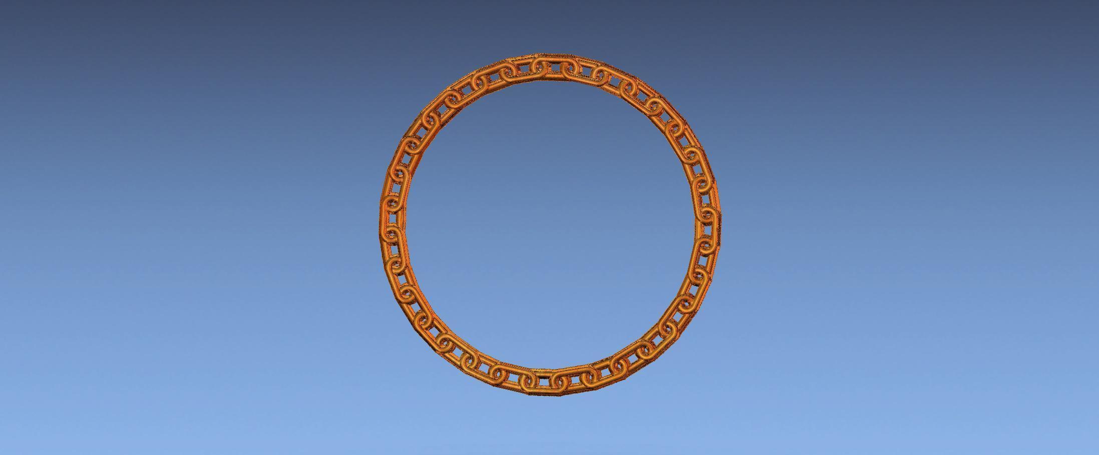 1.jpg Download free STL file chain border 3d stl file • 3D printing design, ALPHA_MENA