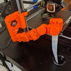 Download free 3D printing designs Articulating Raspberry Pi Camera Mount for Prusa MK3, raybenjamin