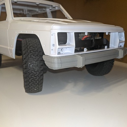 Download STL Jepp Comanche/cherokee bumpers 1/10, RCGANG93
