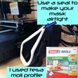 dichtung.png Download free STL file Mask 3D NanoHack 2.0 • 3D printer design, Tonystark112