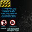 Télécharger fichier STL gratuit Masque 3D NanoHack 2.0 • Design imprimable en 3D, Tonystark112
