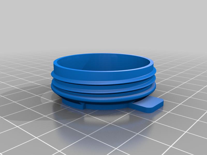 tapa_mark_2.png Download free STL file Mask 3D NanoHack Improved (MassProductionVersion) • 3D printing model, Tonystark112