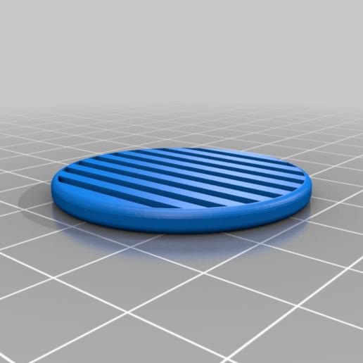 circulo_honey_mark_2.png Download free STL file Mask 3D NanoHack Improved (MassProductionVersion) • 3D printing model, Tonystark112