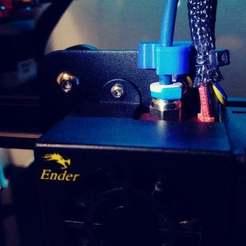 20200503_231627.jpg Download free STL file Bowden tube bracket • 3D print object, Ndreu