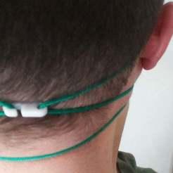 Descargar archivos 3D gratis Clip de oído del respirador, Ndreu