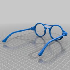Download free 3D print files Vintage glasses, Ndreu