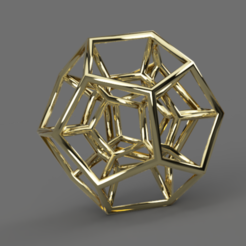Download free STL file Dodecahedron Necklace Charm #ANYCUBIC3D, ogrecubes
