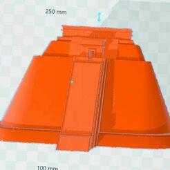uxmal.jpg Download free STL file uxmal pyramid • 3D printer model, rcolash10