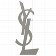 Download 3D print files YSL Heels Logo, nicolabaldanbn