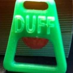 Duff_display_large.jpg Download free STL file Duff Beer Opener • 3D printing template, JeanSeb