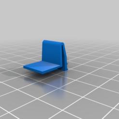 Download free STL file Nintendo GameBoy battery cover repair part • 3D print object, JeanSeb