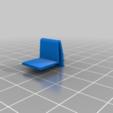 Télécharger fichier STL gratuit Pièce de réparation du couvercle de la batterie de la Nintendo GameBoy • Modèle pour imprimante 3D, JeanSeb