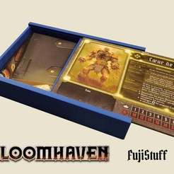 il_fullxfull.2146607806_6db8.jpg Download free STL file Gloomhaven Character storage box with  slide • 3D print model, JeanSeb