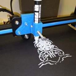 Télécharger fichier STL gratuit Creality CR-10 Porte-plume • Plan imprimable en 3D, JeanSeb