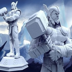 Thor Full.jpg Download free STL file Thor • 3D printable template, Ivan3d